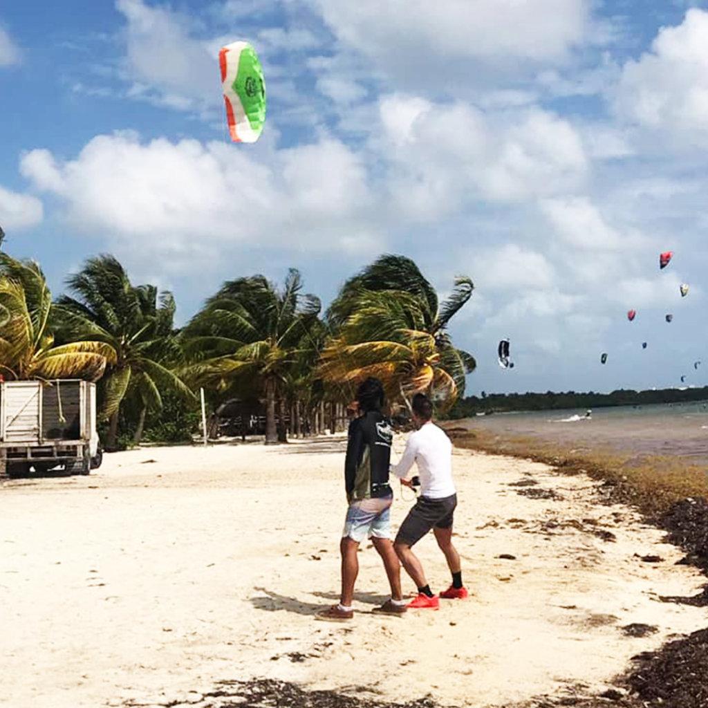 kitesurf cancun