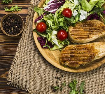 Nourriture Healthy pendant les vacances