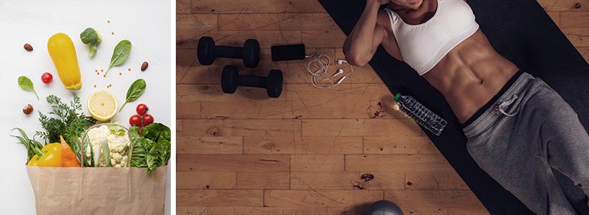 Programme fitness gratuit sec et muscle femme