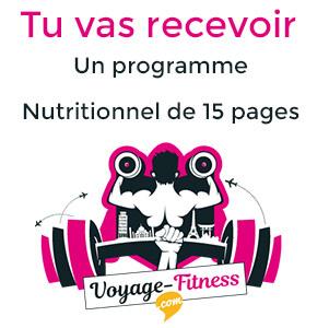 recevoir votre programme nutritionnel gratuitement