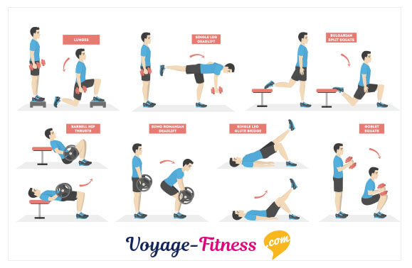Les meilleurs exercices de musculation ischio-jambier
